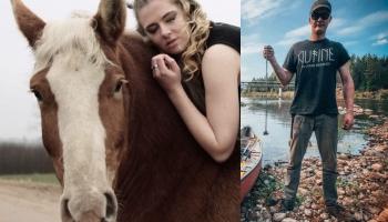 Sazināmies ar kalēju Jāni Nīmani un zirgaudzētāju Lauru Buili