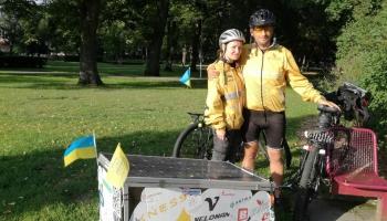 Сергей Толстихин и Юлия Мазур: через Европу за 80 дней на велосипеде
