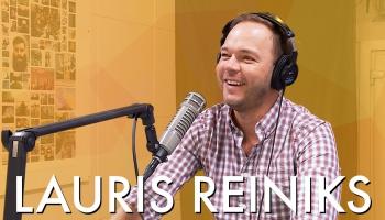 Lauris Reiniks ar jaunu dziesmu kabatā