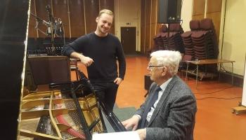Raimonds Pauls un Daumants Kalniņš jauna dziesmu cikla pirmieskaņojumā