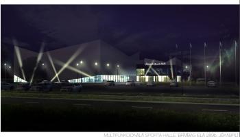 Jēkabpilī jauna sporta halle: kas tajā sportos un kādus sporta veidus domāts attīstīt