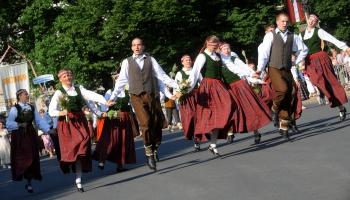 Latgolā cer iz pandemejis Dzīšmu i deju svātkim