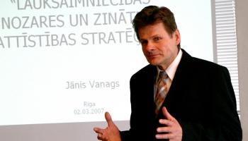 Янис Ванагс: признание незнания - главный признак умных людей