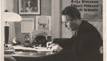 Arvīda Žilinska dzimšanas dienā - komponista dziesmu jauni ieskaņojumi