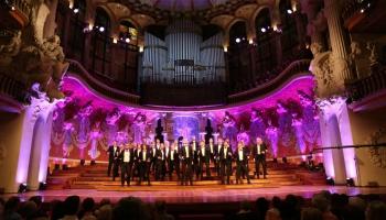 """Eiroradio koru ierakstu konkursa """"Let the peoples sing"""" fināls Barselonā"""