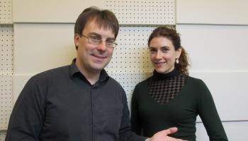 Marija Elizabete Sīgere, Toms Ostrovskis un franču mūzika LNB korē