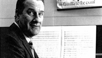 Linde Leimane un Tālivaldis Ķeniņš Latviešu simfoniskās mūzikas lielkoncertā
