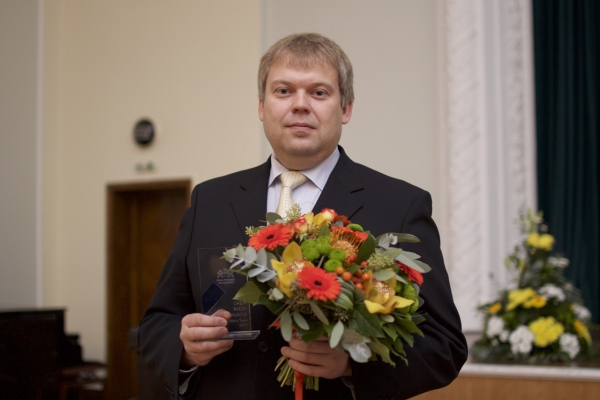Rīgas Tehniskās universitātes Gada zinātnieks - Māris Turks