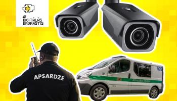 Policijas un apsardzes tehnoloģijas, ikdienā rūpējoties par mūsu drošību