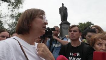 """Intervija ar portāla """"Meduza"""" vadītāju Gaļinu Timčenko. Saruna oriģinālvalodā"""