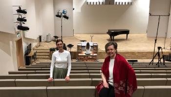 Tapusi Dubultu digitālā koncertzāle! Stāsta Edīte Alpe un Diāna Anna Ritenberga