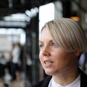 """""""Hanzas perona"""" vadītāja Ieva Irbina: Esmu procesa cilvēks"""