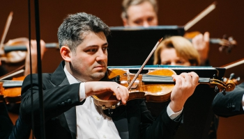 Георг Саркисян. Первая скрипка Национального симфонического