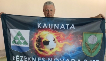 Dodamies uz Latgali: Iepazīstam Kaunatas atjaunoto stadionu. Tiekamies ar Guntu Vaičuli