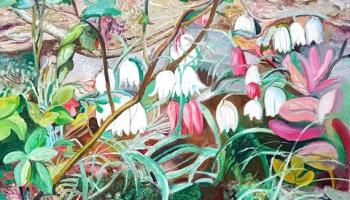 """Galerijā """"Daugava"""" aplūkojama mākslinieces Maijas Tabakas jubilejas izstāde"""