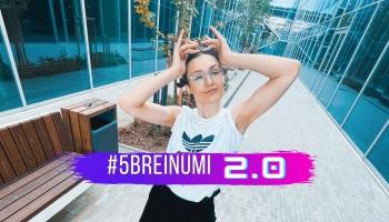 """#5BREINUMI – deju studijas """"Stop Time"""" vaditāja Rēzeknē – Liāna Merņaka Ņikitina"""