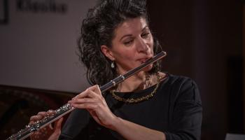 Flautiste Liene Denisjuka-Straupe: Izbaudu ap sevi sulīgo stīgu tembru