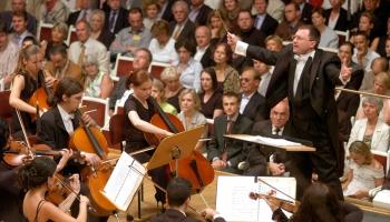 JVLMA simtgadi gaidot. JVLMA simfoniskais orķestra nesenā pagātne un tagadne
