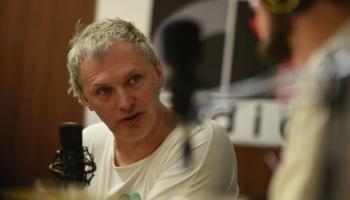 Krustpunktā Brīvais mikrofons ar žurnālistu Paulu Timrotu