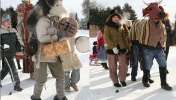 Ziemas saulgriežu svinēšana visā Latvijā