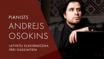 """Tiešraidē no Latvijas Radio 1.studijas - pianista Andreja Osokina programma """"Latviešu klaviermūzika pāri gadsimtiem"""""""