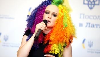 """""""100-gades dziesmu krātuvē"""" viesojās dziedātāja Agnese Rakovska!"""
