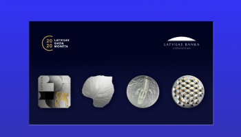 """Monēta """"Liepas lapa"""" uzvar sabiedrības aptaujā par gada monētu"""
