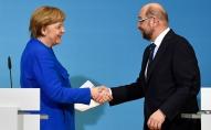 Vācijas Sociāldemokrātiskā partija sāks koalīcijas sarunas ar Merkeles konservatīvo bloku