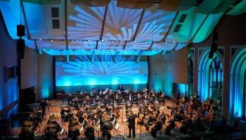 Latvijas Nacionālā simfoniskā orķestra sezonas atklāšanas koncerts Lielajā ģildē