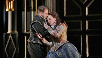"""Elīna Garanča G. Doniceti operas """"Roberto Deverē"""" iestudējumā Ņujorkas Metropoles operā"""