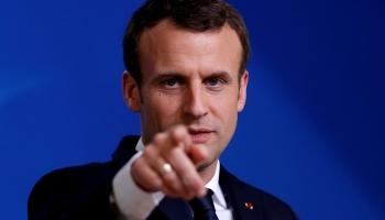 Специальный репортаж первого дня визита президента Франции Макрона