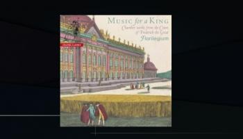 """Prūsijas karaļa Frīdriha II (Lielā) galma kamermūzika ansambļa """"Florilegium"""" ieskaņojumā"""