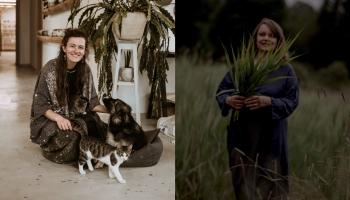 Sazināmies ar saimnieci Lieni Margēviču un keramiķi Laimu Grigoni