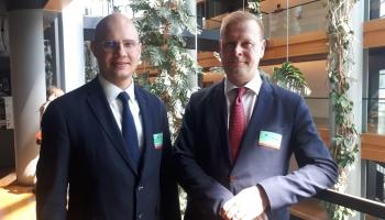 """""""Rail Baltica"""" jaunais vadītājs: Dzelzceļa līnija pavērs iespējas uzņēmējiem un ceļotājiem"""