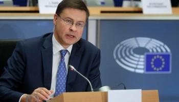 Valdis Dombrovskis: Ekonomikas atkopšanās prasīs ES valstīm vismaz divus gadus