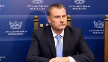 Generalprokurors Jurs Stukāns sovu dorbu izsuocs ar reformu prokuraturā