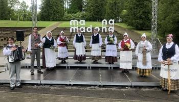 """Gaidot Vasaras saulgriežus, iepazīsimies ar Barkavas folkloras kopu """"Madava"""""""