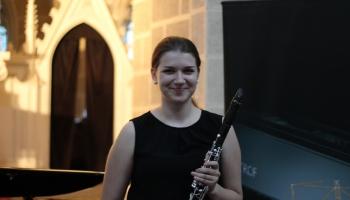 """Alises Gavares panākumi Starptautiskajā jauno mūziķu ierakstu konkursā """"Concertino Praga"""""""