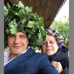 Dultportretā dzīvesbiedri – operdziedātāja Kristīne Zadovska un aktieris Andris Keišs