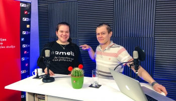 Pīci breinumi & Justīne Širina (Latvijas Studentu apvienības prezidente)