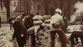 Latvijas sporta sabiedrības ieguldījumu notikumos pirms 25 gadiem
