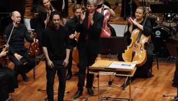 """""""Sinfonietta Rīga"""" un roks, """"Quattro Differente"""" jubileja, Virsaladze un """"Rīgas gredzens"""""""
