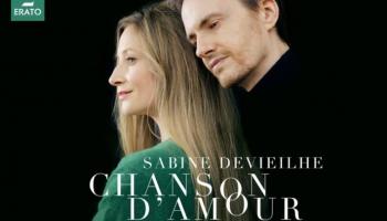 "Sabīne Devjela un Aleksandrs Taro albumā ""Chanson d'Amour"""