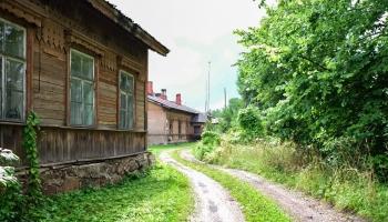 Бозова -  старейший в Латвии железнодорожный поселок