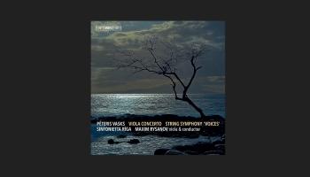 """Pirmoreiz """"Klasikā""""! Vasks un Risanovs. Altkoncerts un Stīgu simfonija """"Balsis"""""""