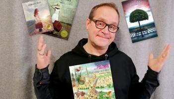 Zelta pogas sabiedrībā dzejnieks un mūziķis Guntars Račs