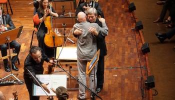 """Koncerts """"Baltiešu jubileja. Baltijas valstu simtgade"""" Stokholmas Bervalda zālē"""