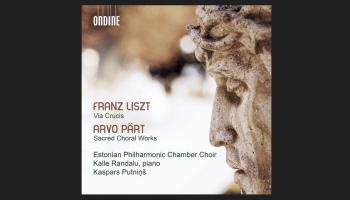 """Ferenca Lista """"Via Crucis"""" un Arvo Perta sakrālā mūzika (Ondine, 2019)"""