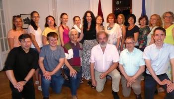 Ciemos pie Vīnes un Grācas apvienotā latviešu kora