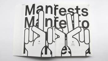 """""""Manifests. No futūrisma līdz mūsdienām"""" - 102 mākslas manifesti vienā izdevumā"""